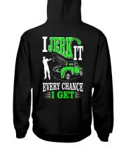 I JERK IT - TOW TRUCK DRIVER Hooded Sweatshirt thumbnail