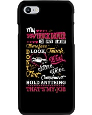 TOW TRUCK DRIVER - MY BABE Phone Case thumbnail
