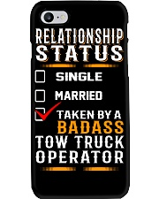 Relationship Status - Rollback Tow Truck Phone Case thumbnail