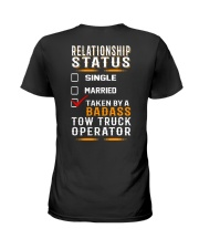 Relationship Status - Rollback Tow Truck Ladies T-Shirt tile