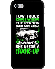 TOW TRUCK DRIVER NEED A HOOK-UP Phone Case thumbnail