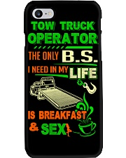TOW TRUCK OPERATOR BREAKFAST AND SEX FLATBED Phone Case thumbnail