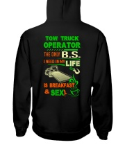 TOW TRUCK OPERATOR BREAKFAST AND SEX FLATBED Hooded Sweatshirt thumbnail
