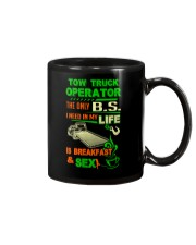 TOW TRUCK OPERATOR BREAKFAST AND SEX FLATBED Mug thumbnail