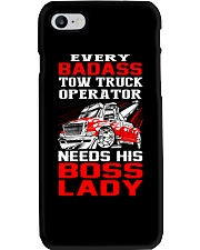 TOW TRUCK OPERATOR NEED HIS BOSS LADY Phone Case thumbnail