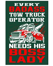TOW TRUCK OPERATOR NEED HIS BOSS LADY 24x36 Poster thumbnail