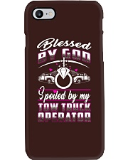 BLESSED AND SPOILED TOW TRUCK OPERATOR Phone Case thumbnail