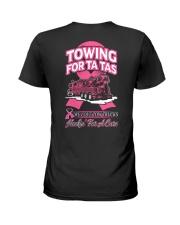 Towing For Ta Tas Heavy Ladies T-Shirt thumbnail