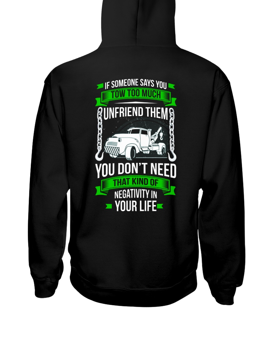 DAY WITHOUT TOWING Hooded Sweatshirt