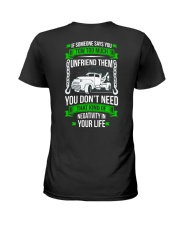 DAY WITHOUT TOWING Ladies T-Shirt thumbnail