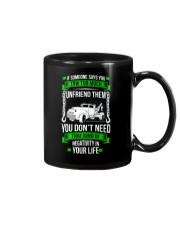 DAY WITHOUT TOWING Mug thumbnail