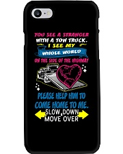 My Whole World In a Tow Truck Phone Case thumbnail