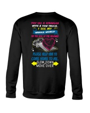 My Whole World In a Tow Truck Crewneck Sweatshirt thumbnail