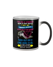 My Whole World In a Tow Truck Color Changing Mug thumbnail