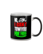 NO I CAN'T TOW YOU Color Changing Mug tile