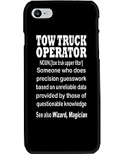 TOW TRUCK OPERATOR WIZARD Phone Case thumbnail