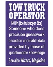 TOW TRUCK OPERATOR WIZARD 24x36 Poster thumbnail