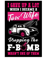 F-BOMB TOW WIFE Vertical Poster tile