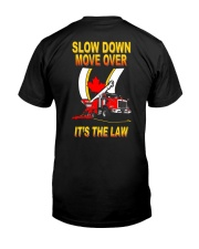 SDMO IT'S THE LAW - CANADA Classic T-Shirt back