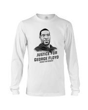 Rest In Power JUSTICE GEORGE FLOYD Long Sleeve Tee thumbnail