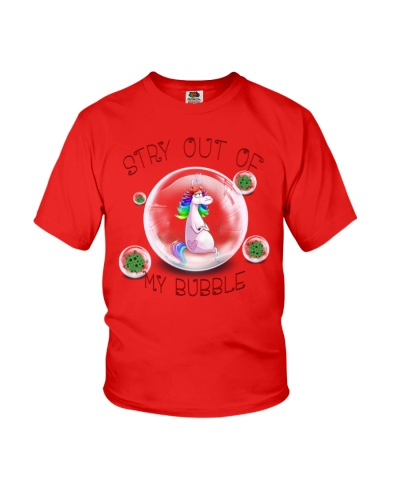 Stay Out Of My Bubble Unicorn T shirt