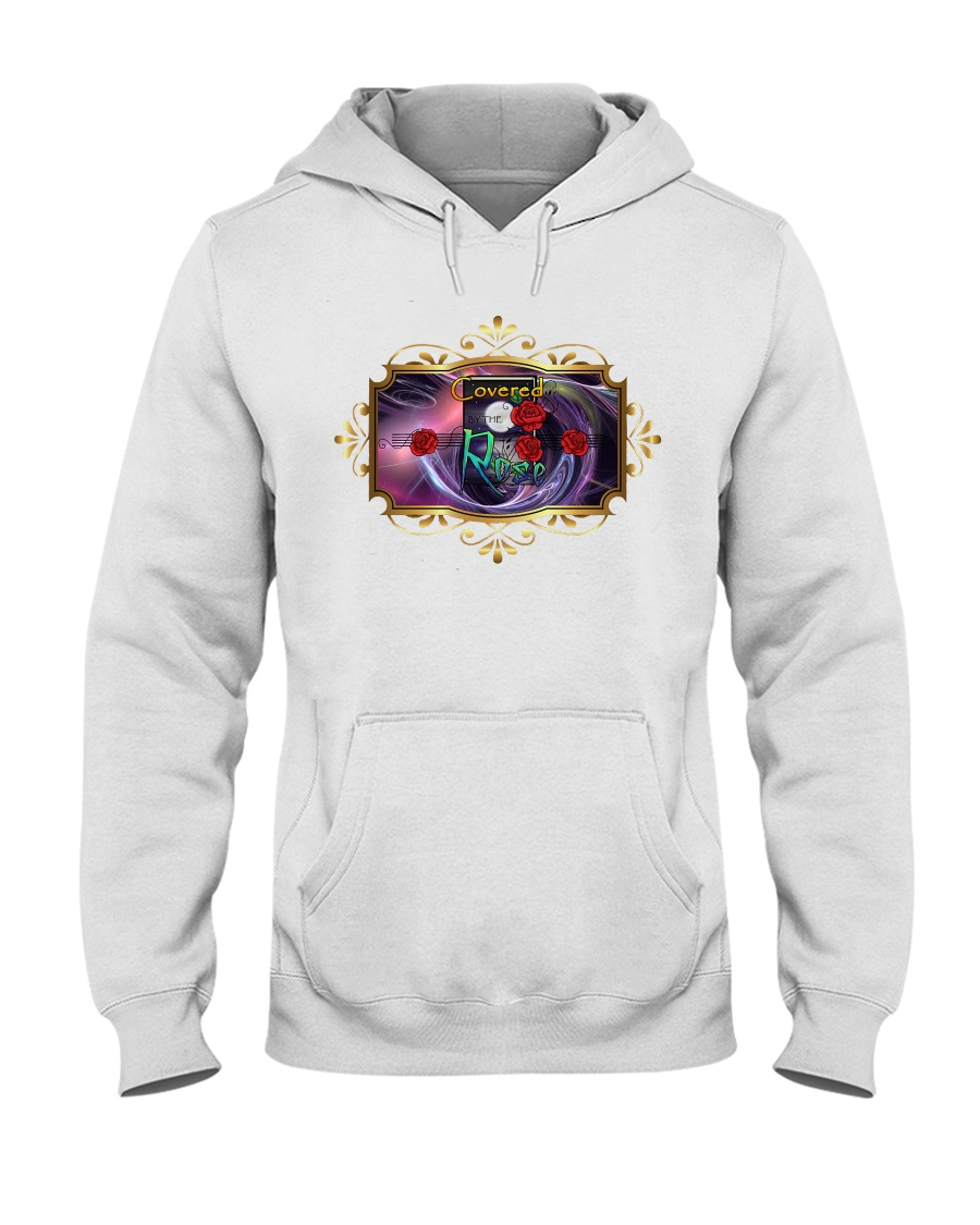 Covered By The Rose Logo Hooded Sweatshirt