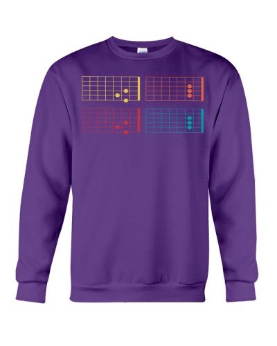 VINTAGE Mens Guitar Chord Shirt - Dada