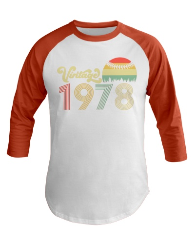 Made in 1978 T-Shirt Vintage 32 th