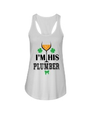 I am his Plumber Ladies Flowy Tank tile