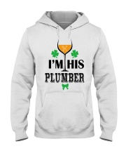 I am his Plumber Hooded Sweatshirt tile