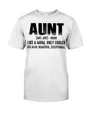 Aunt Tshirt Classic T-Shirt front