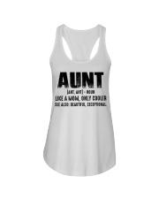 Aunt Tshirt Ladies Flowy Tank thumbnail