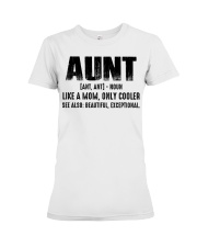 Aunt Tshirt Premium Fit Ladies Tee thumbnail