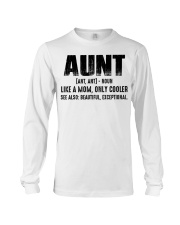 Aunt Tshirt Long Sleeve Tee tile