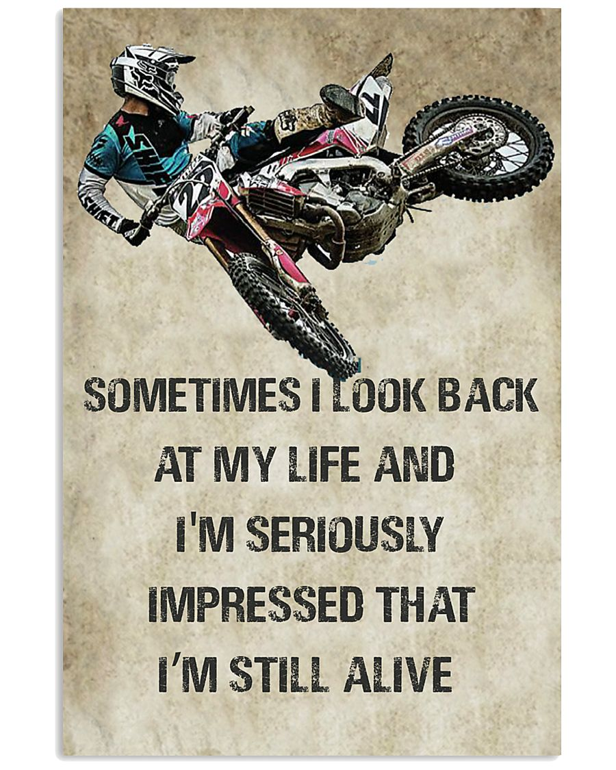 DIRT BIKE SUPPERCROSS MOTOCROSS OFFROAD DIRT BIKE  11x17 Poster