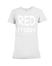 red shirt friday Premium Fit Ladies Tee tile