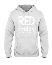 red shirt friday Hooded Sweatshirt tile