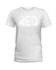 red shirt friday Ladies T-Shirt tile