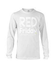 red shirt friday Long Sleeve Tee tile