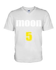 john mayer moon hoodie V-Neck T-Shirt thumbnail