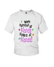 What happens at Nana Youth T-Shirt front