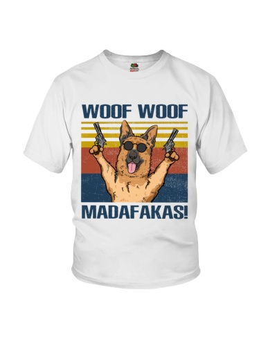 German Shepherd Woof Woof Madafakas