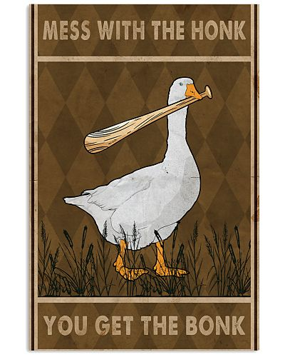 Goose Mess With The Honk Old Brown