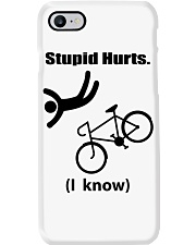 Cycle - Stupid Hurts Phone Case tile