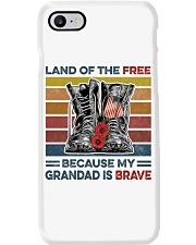 Memorial Day Because My Grandad Is Brave Phone Case thumbnail