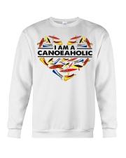 Canoeing - I Am A Canoe Aholic Crewneck Sweatshirt thumbnail