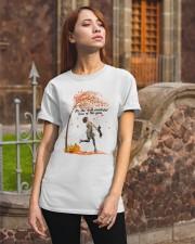 Dachshund Dancing Fall Classic T-Shirt apparel-classic-tshirt-lifestyle-06