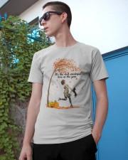 Dachshund Dancing Fall Classic T-Shirt apparel-classic-tshirt-lifestyle-17