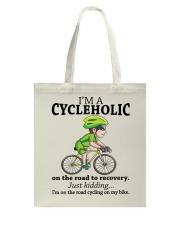 Cycle - Cycleholic Tote Bag thumbnail