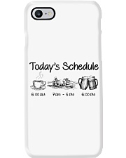 Canoeing - Today's Schedule Phone Case thumbnail
